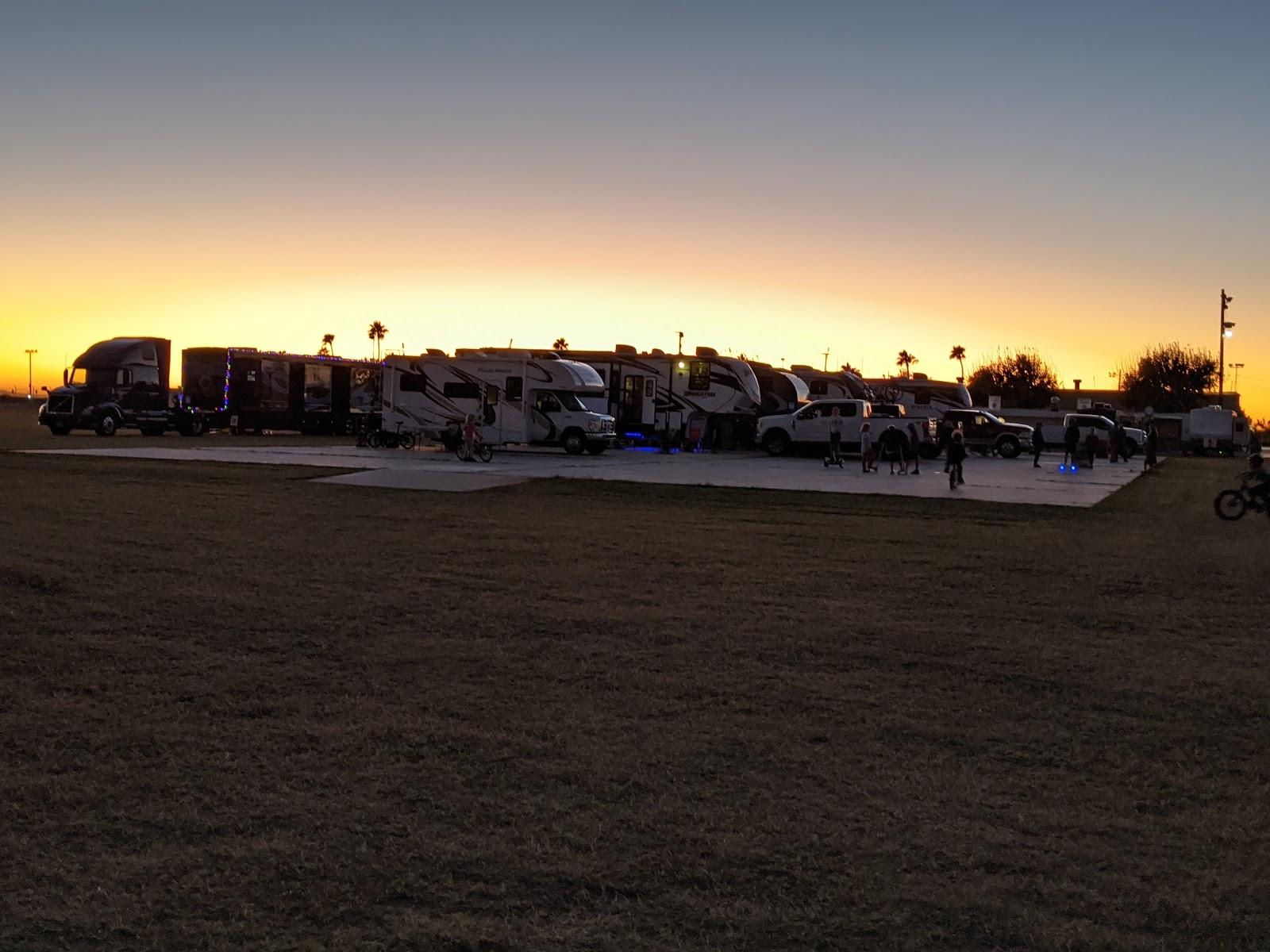 parked in yuma